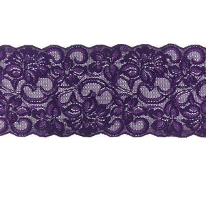 "5"" Violet Stretch Lace # 212"