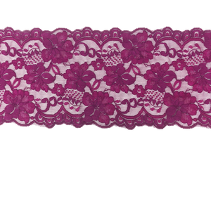 "Stretch Lace #214, 5 3/4"" Plum"