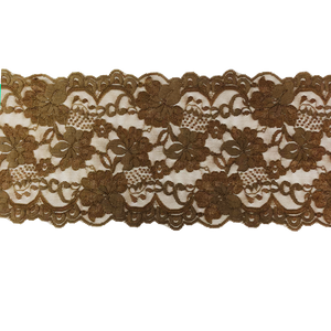 "5 3/4"" Mocha Stretch Lace # 216"