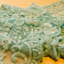 "Load image into Gallery viewer, 5 3/4"" Aqua Stretch Lace # 217"