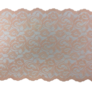 "9"" Peach Stretch Lace # 226"
