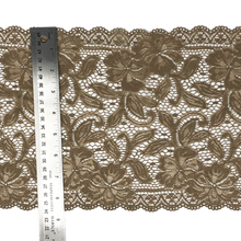 "Load image into Gallery viewer, 9"" Hazelnut Stretch Lace # 227"