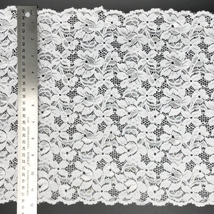 "12"" White Stretch Lace #229"
