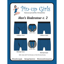 Load image into Gallery viewer, Men's Underwear Pattern