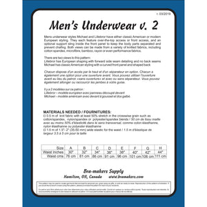 Men's Underwear Pattern