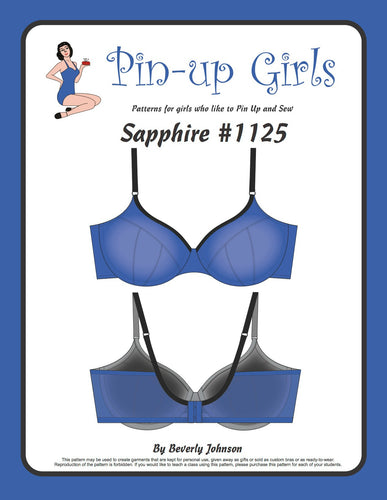 Sapphire Partial Band Bra Pattern