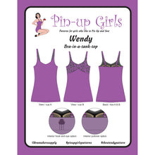Load image into Gallery viewer, Wendy Bra Tank Top Bra Pattern