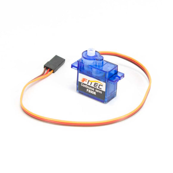 Continuous Rotation Servo - FS90R 9g Micro 360 Degrees