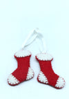20 PCS Mixed New and Lovely Handmade Christmas tree hanging decoration/Xmas Tree Hanging Ornaments