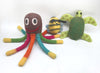 Dog Woolen Handmade Toys- Octopus, Bee and Turtle