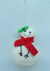 Gorgeous Woolen Snowman Handmade Christmas/Xmas tree Hanging Decoration Ornaments