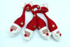 Gorgeous Woolen Santa Head with Star Hat Handmade Christmas/Xmas tree Hanging Decoration Ornaments