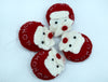 Woolen Santa Head-Handmade Christmas/Xmas tree Hanging Decoration Ornaments