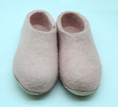 100% Woolen Felted Slipper- Men and Women Shoes