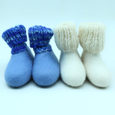 Kids Woolen Felted Shoes-Shoes with Socks-Kids Shoe