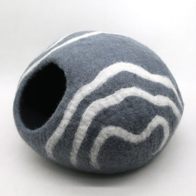 Simple Spiral Design Cat bed- Cat Cave- Cat Home