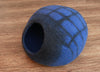 Blue Stripe Cat Bed-Cat Caves-Cat Furniture-Handmade bed