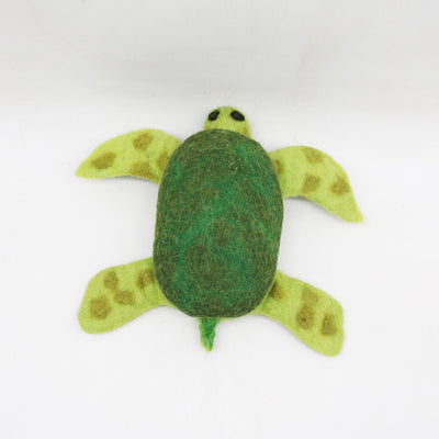 "Get 2 pieces of 10"" Tortoise Felt Dog Toy in one Package"