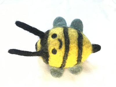 Bumbal bee Felt Dog Toys- Four Items set