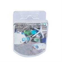 Load image into Gallery viewer, Magnet - Glitter Clip Seaglass & Sea Shells