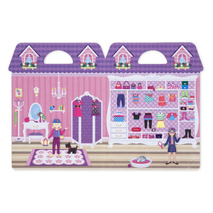 Sticker Set - Dress Up - Puffy Play Set