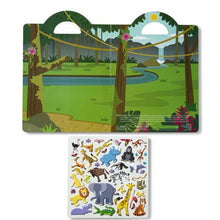 Load image into Gallery viewer, Sticker Set - Safari - Puffy Play Set