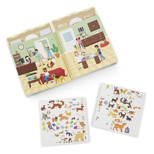 Sticker Set - Pet Palace - Puffy Play Set
