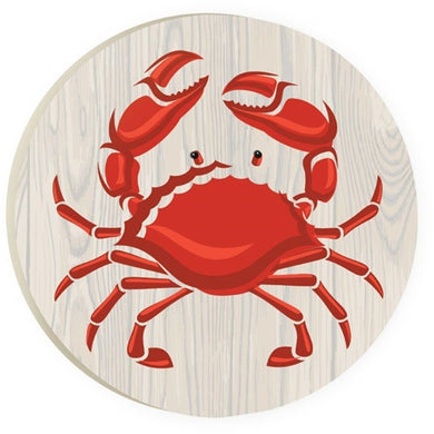 Car Coaster COA0146 - Red Crab