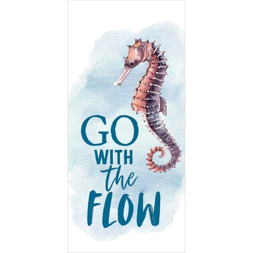 Sign - VBS045 - Seahorse go With the Flow