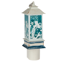 Load image into Gallery viewer, Night Light - Mermaid Aqua/White