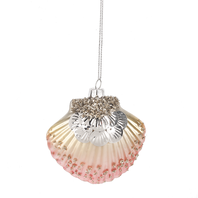 Ornament - Scallop Shell Glass