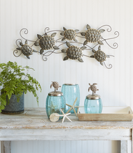 Load image into Gallery viewer, Wall Decor - Large Galvanized Multi Turtles