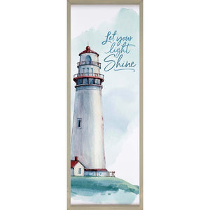 Sign - VFR0236 - Let your Light Shine Lighthouse
