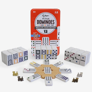 Games - Dominos Double 12 Mexican Train - RG 7512