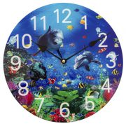 Clock - Under the Sea Dolphins