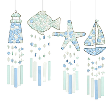 Load image into Gallery viewer, Wind Chime - Sea Glass