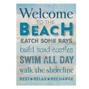 Sign - BHB0169 - Welcome Beach