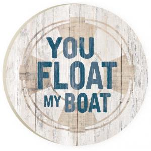 Car Coaster CST0183 - You Float my Boat