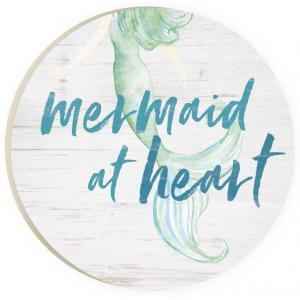 Car Coaster CST0185 -Mermaid at Heart