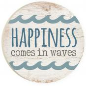 Car Coaster CST0198 - Happiness Comes in Waves