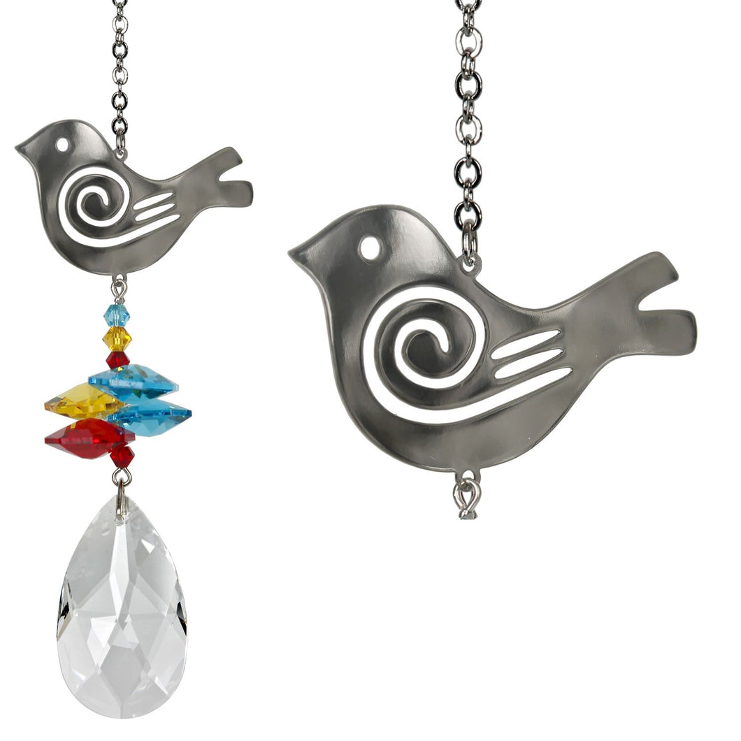 Crystal Fantasy Suncatcher - Bird