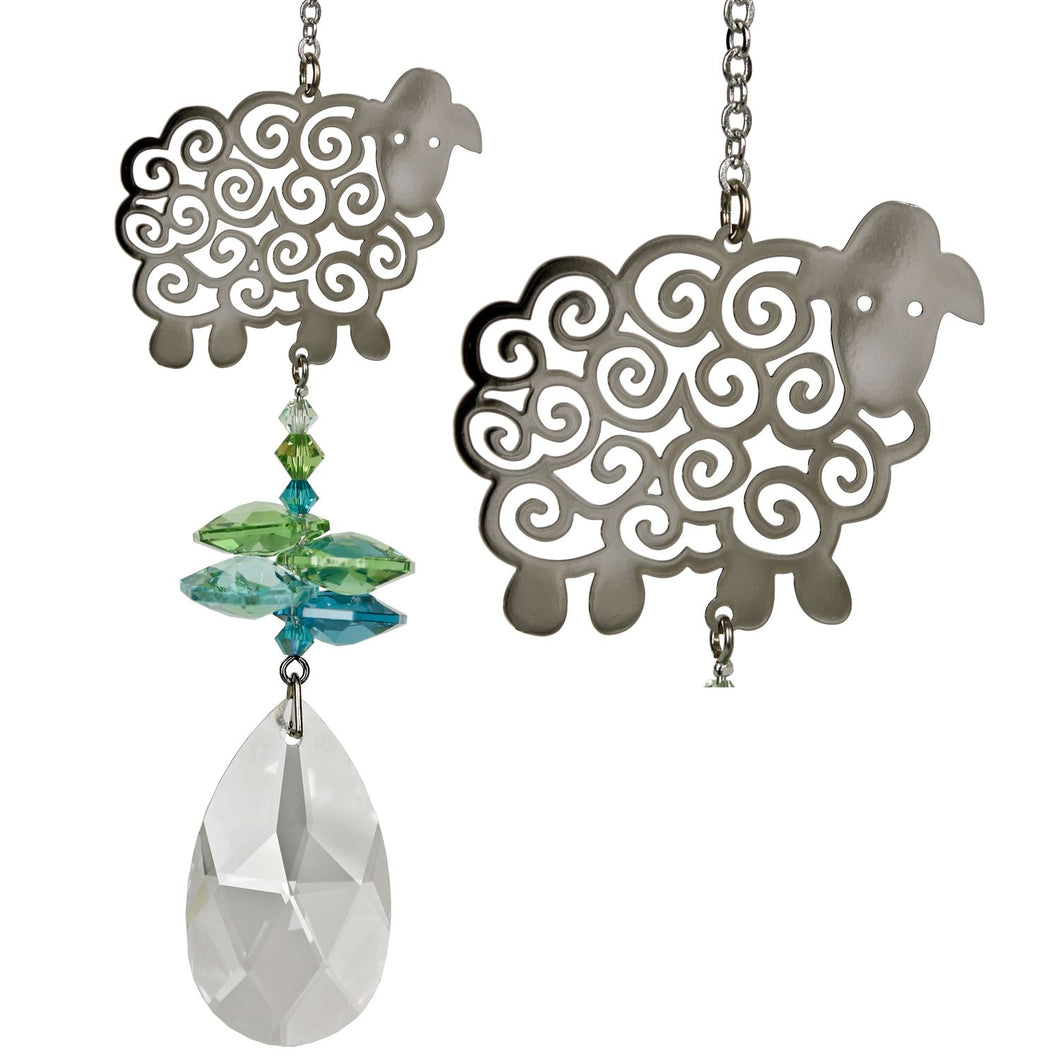 Crystal Fantasy Suncatcher - Sheep