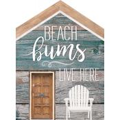Sign - HOU0089 - Beach Bums Live Here