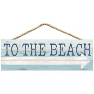 Sign - HPS0039 - To the Beach