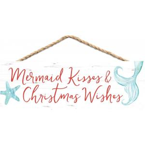 Sign - HPS0117 - Mermaid Kisses & Christmas Wishes