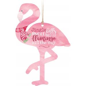 Ornament - ORN0184 - Flamingo all the Way