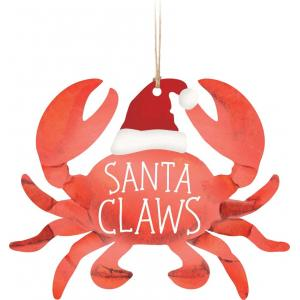 Ornament - ORN0186 - Crab Santa Claws