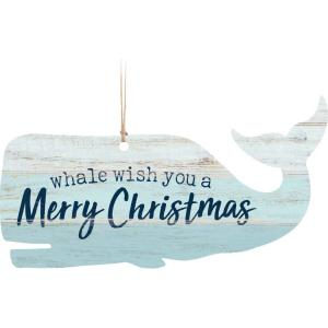 Ornament - ORN0191 - Whale wish you a Merry Christmas