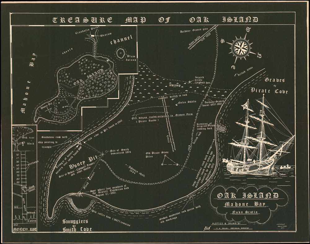 Treasure Map - Oak Island