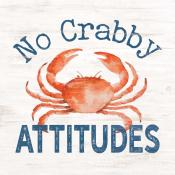 Sign - SBB0076 - No Crabby Attitudes